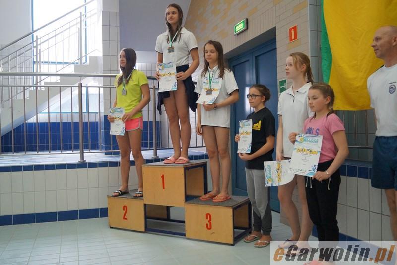 Pływanie, Kolejne udane zawody pływaków Delfin Garwolin - zdjęcie, fotografia