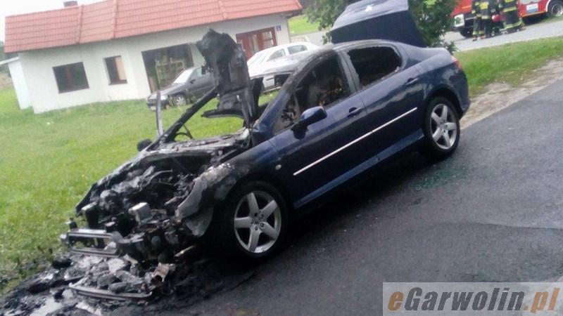 Archiwum Aktualności, Pożar samochodu Gocławiu Dopiero kupiłem - zdjęcie, fotografia