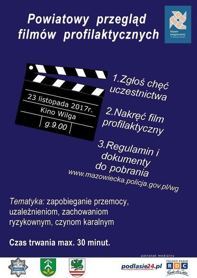 Archiwum Aktualności, Powiatowy przegląd filmów profilaktycznych - zdjęcie, fotografia