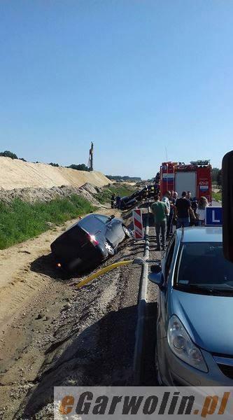 Archiwum Aktualności, Wypadek zderzyły samochody osoba szpitalu - zdjęcie, fotografia