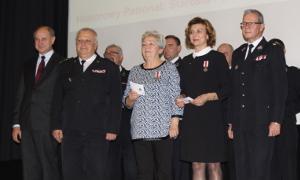 Archiwum Aktualności, odznak honorowych dawców - zdjęcie, fotografia