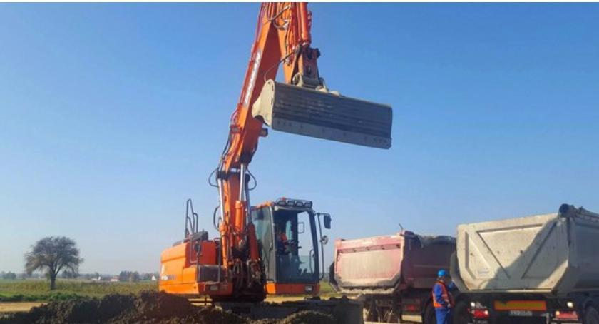 Inne Powiat, Kradzieże budowie zmora wykonawcy drogi - zdjęcie, fotografia