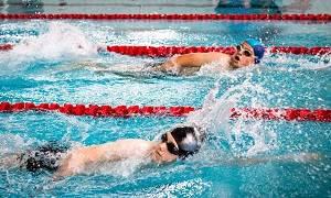 Pływanie, Otwarte Zawody Pływackie Puchar Wójta Gminy Garwolin - zdjęcie, fotografia