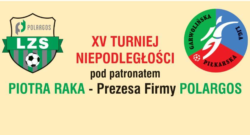 W Powiecie, Turniej Niepodległości patronatem Prezesa Firmy Polargos - zdjęcie, fotografia