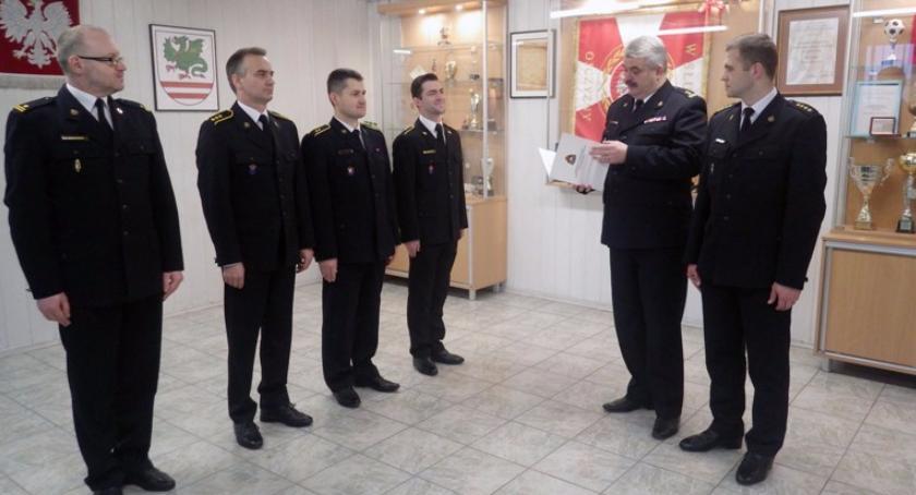 Inne Powiat, Strażacy Komendy Garwolinie nagrodami komendanta głównego - zdjęcie, fotografia