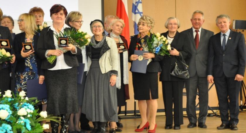 Historia, Rodzina powiatu garwolińskiego medalem Sprawiedliwy Wśród Narodów Świata - zdjęcie, fotografia