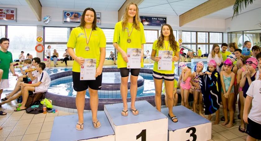 Pływanie, Rekordowe Otwarte Zawody Pływackie Puchar Burmistrza Miasta Garwolin - zdjęcie, fotografia