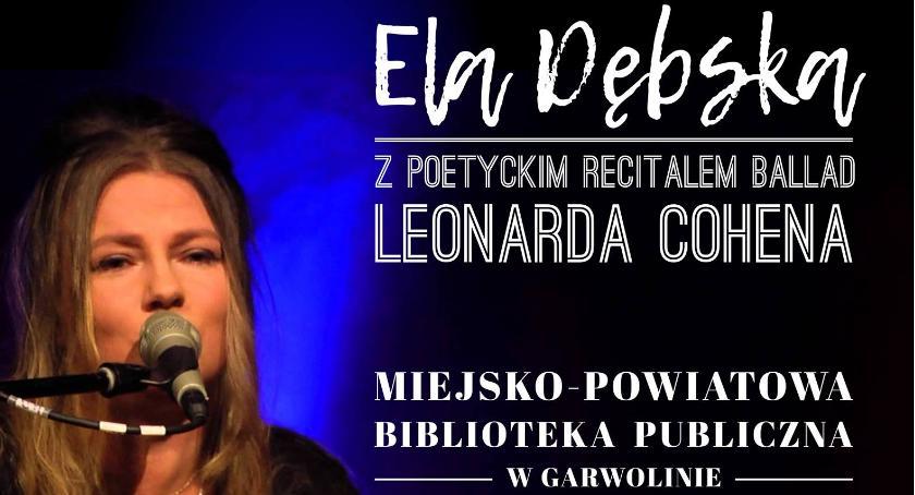 Koncerty, Zaproszenie recital Dębskiej - zdjęcie, fotografia