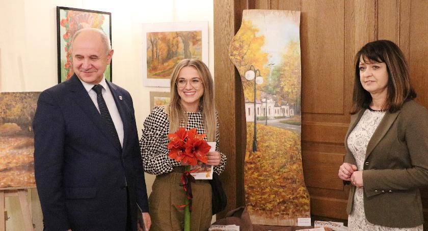 """Wystawy, """"Malownicze Mazowsze"""" obrazach Miętnem - zdjęcie, fotografia"""