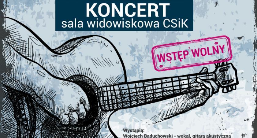W Garwolinie, Wojtek Baduchowski przyjaciele zapraszają Koncert Twój - zdjęcie, fotografia