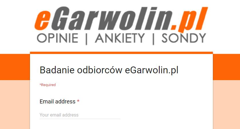 O portalu, Badanie odbiorców eGarwolin - zdjęcie, fotografia
