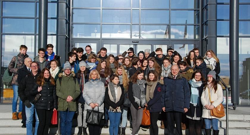 Inne Powiat, Niemieccy uczniowie odwiedzili Garwolin - zdjęcie, fotografia