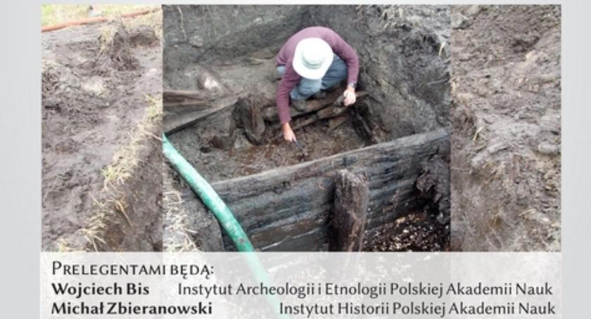 W Powiecie, Archeolodzy zamku Żelechowie - zdjęcie, fotografia