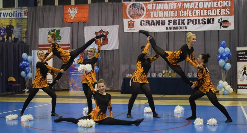 Inne Dyscypliny, Garwolin Grand PrixPolski Cheerleaders eliminacje Mistrzostw Polski - zdjęcie, fotografia
