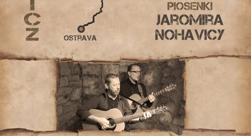 Koncerty, Kameralny koncert utworówJaromíra Nohavicy - zdjęcie, fotografia