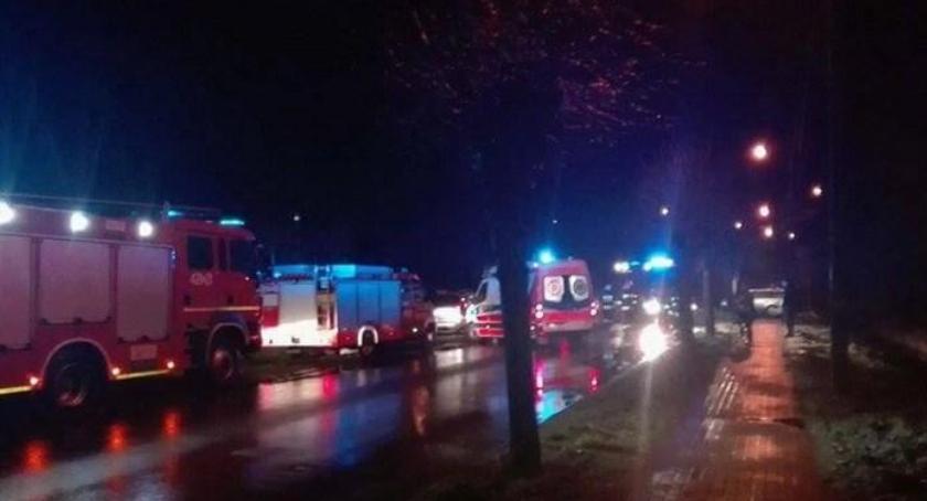 Wypadki drogowe , Śmiertelny wypadek Sobolew żyje kobieta - zdjęcie, fotografia