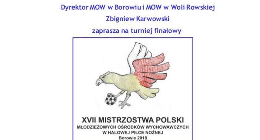 Inne Dyscypliny, Mistrzostwa Polski Młodzieżowych Ośrodków Wychowawczych Halowej Piłce Nożnej - zdjęcie, fotografia