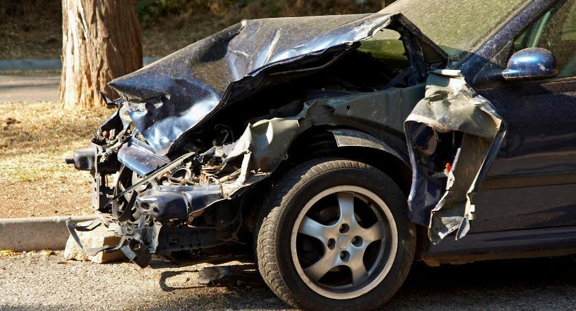 Wypadki drogowe , Wypadek Wilga osoby szpitalu - zdjęcie, fotografia