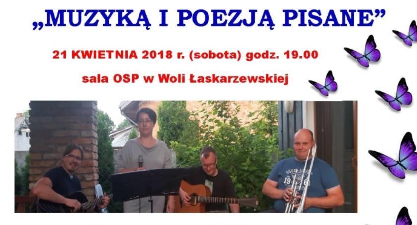 W Powiecie, Wieczór kulturą Łaskarzewskiej - zdjęcie, fotografia