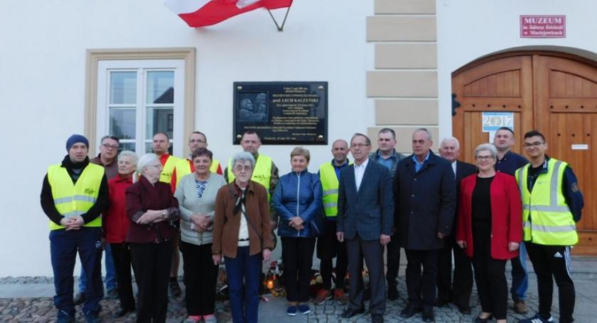 Inne Powiat, Rowerowy Marii Lecha Kaczyńskich Maciejowicach - zdjęcie, fotografia