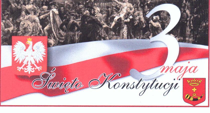 W Powiecie, Gminne obchody rocznicy uchwalenia Konstytucji Maciejowicach - zdjęcie, fotografia