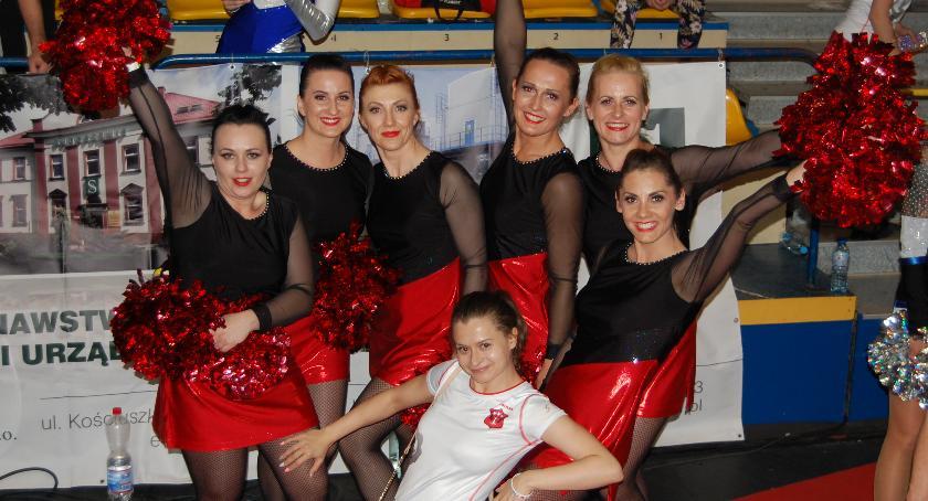 Inne Dyscypliny, Świetny występ garwolińskich cheerleaderek Mistrzostwach Polski - zdjęcie, fotografia
