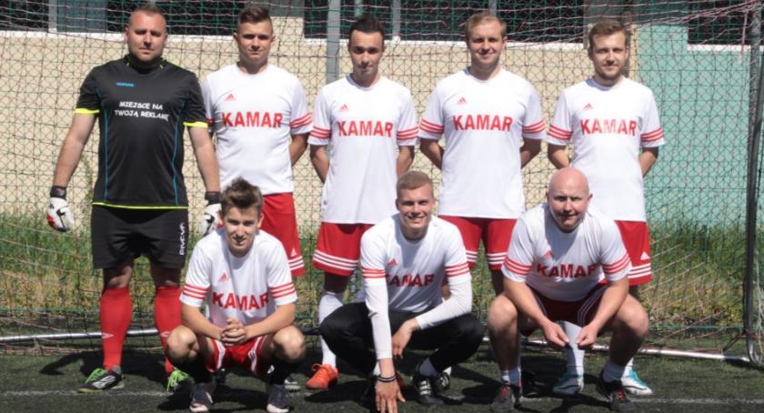 Piłka nożna, KAMAR wygrywa Kawaleryjski Turniej Piłki Nożnej - zdjęcie, fotografia