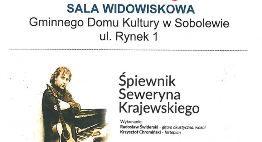 Koncerty, Śpiewnik Seweryna Krajewskiego - zdjęcie, fotografia