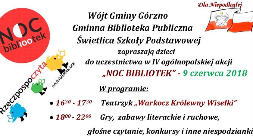 W Powiecie, bibliotek Górznie - zdjęcie, fotografia