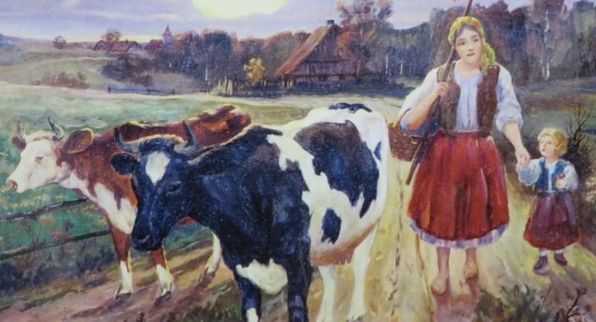 Wystawy, Wieś polska malarstwie Miętnem - zdjęcie, fotografia