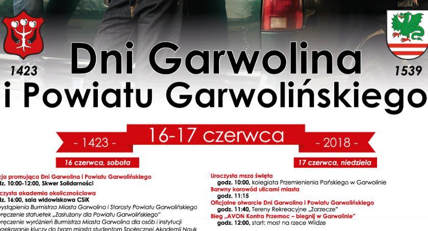 Program Dni Garwolina i Powiatu Garwolińskiego 2018
