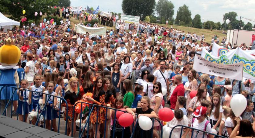 Uroczystości Miejskie, Garwolina Powiatu rozpoczęte program popołudnie wieczór - zdjęcie, fotografia