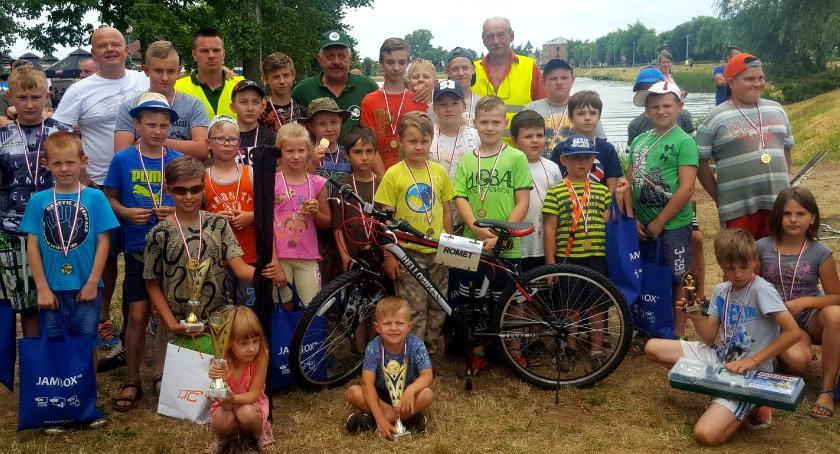 Inne Dyscypliny, Zawody wędkarskie dzieci młodzieży Garwolinie rekord łowiska! - zdjęcie, fotografia