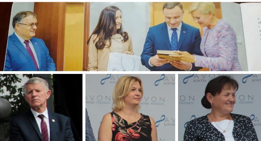 Wybory samorządowe 2018, kandyduje burmistrza Garwolina Iwona Kurowska rozpoczęła kampanię - zdjęcie, fotografia