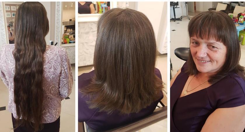 Inne Ciekawostki, Rekord Strefie Piękna Garwolinie włosów chorych - zdjęcie, fotografia