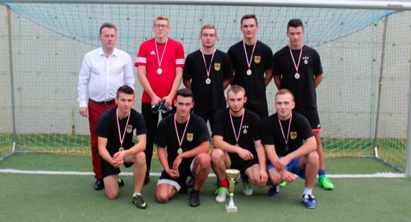 Piłka nożna, Samorządki piłkarskim mistrzem gminy Górzno - zdjęcie, fotografia