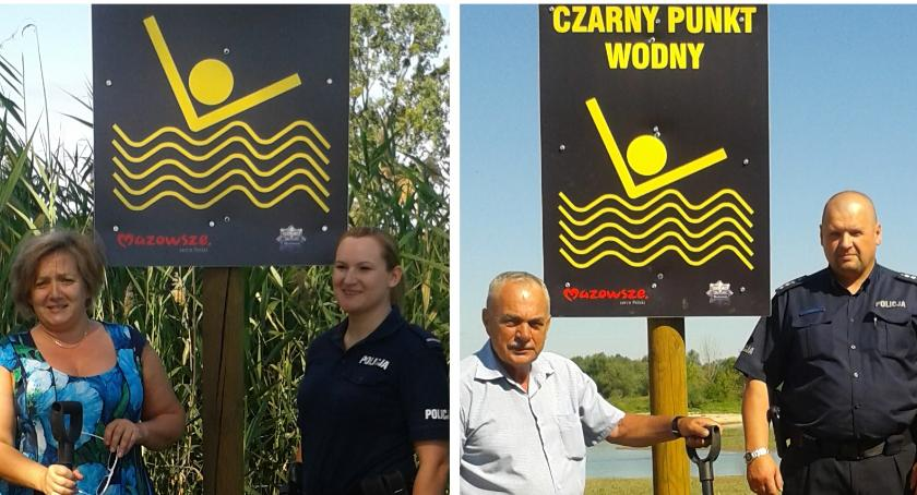 Inne Powiat, Czarne punkty wodą ryzykuj życia kąpieli! - zdjęcie, fotografia