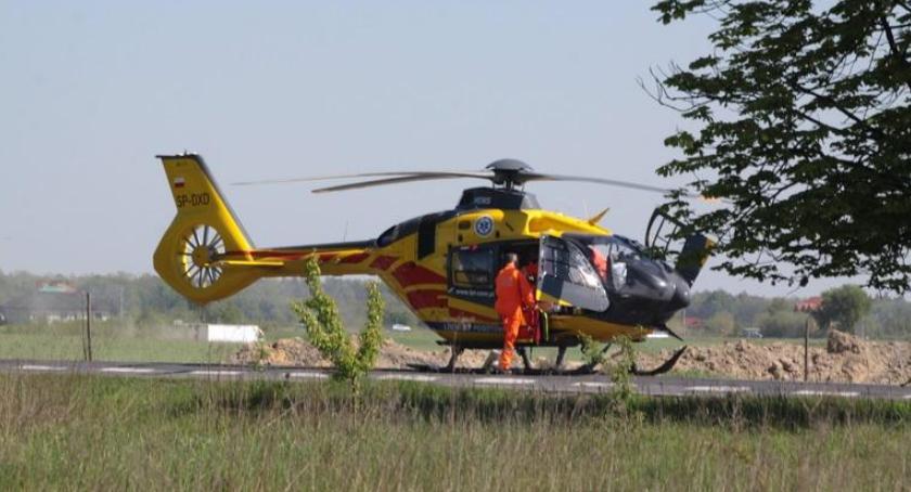 Wypadki drogowe , Wypadek Żelechów potrącony mężczyzna zmarł szpitalu - zdjęcie, fotografia