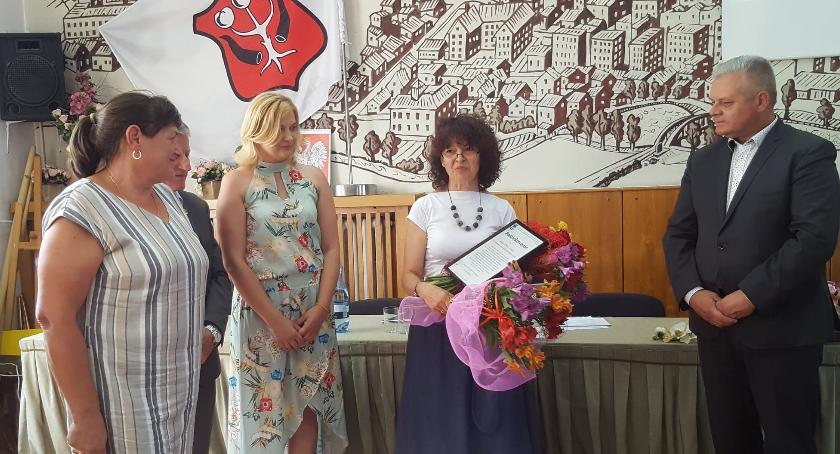 Inne Miejskie, Wiceburmistrz Maria Perek odeszła Urzędu Miasta Garwolina - zdjęcie, fotografia
