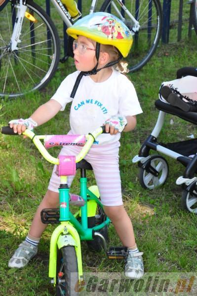 Archiwum, Postawili rodzinę rowerach - zdjęcie, fotografia