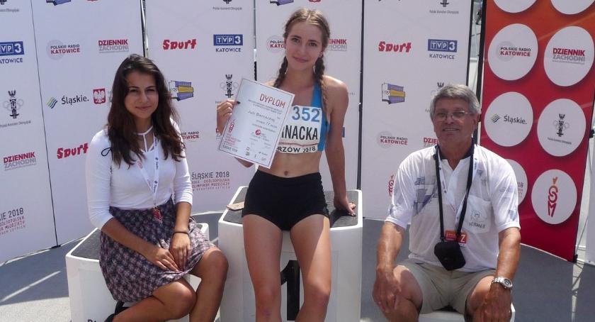 Lekkoatletyka, Medal centymetry - zdjęcie, fotografia