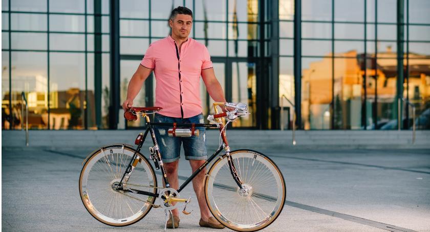 Inne Ciekawostki, Rower złota Łaskarzewa - zdjęcie, fotografia