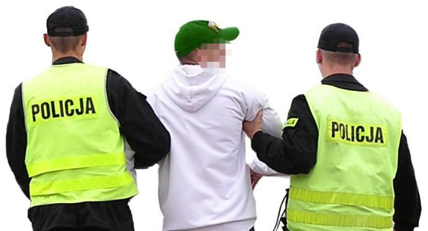 Sprawy kryminalne , Handlował narkotykami Zatrzymanie Pilawa - zdjęcie, fotografia