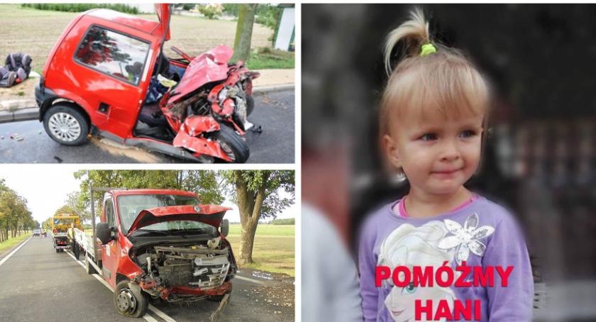 Inne Powiat, Babcia zginęła wypadku Hania szpitalu wesprzyj zbiórkę latki - zdjęcie, fotografia