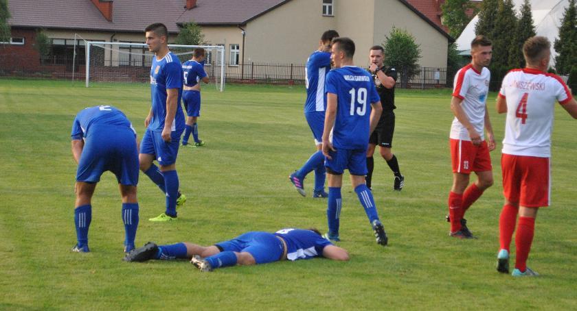 Piłka nożna, Druga porażka Wilgi - zdjęcie, fotografia