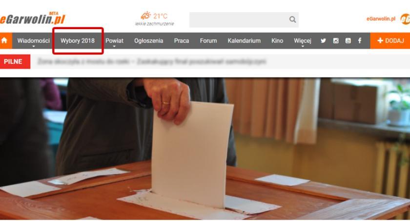 Wybory samorządowe 2018, Serwis wyborczy wybory samorządowe wszystko jednym miejscu! - zdjęcie, fotografia