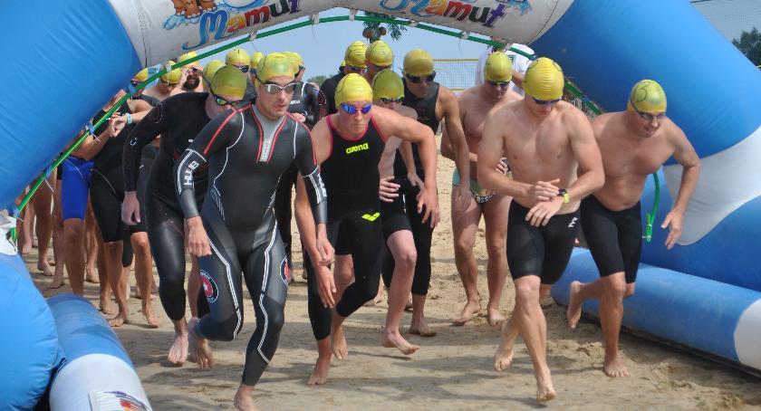 Pływanie, Pływali Mamucie - zdjęcie, fotografia