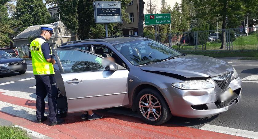 Wypadki drogowe , Miał ponad promila sądowy zakaz doprowadził kolizji Garwolin - zdjęcie, fotografia