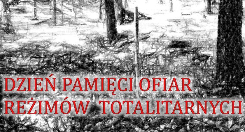 W Powiecie, Dzień Pamięci Ofiar Totalitaryzmu Lisich Jamach - zdjęcie, fotografia