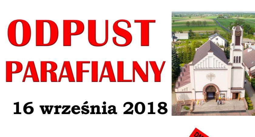 Uroczystości Powiat, Odpust parafiada Miętnem program uroczystości - zdjęcie, fotografia
